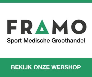 Badstofhoes of massagerol besteld u voordelig bij FRAMO Sport Medische Groothandel